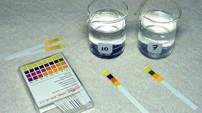 Water Chemistry Part II PH Strips
