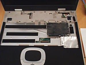 Keyboard removed