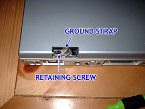 Screws to remove