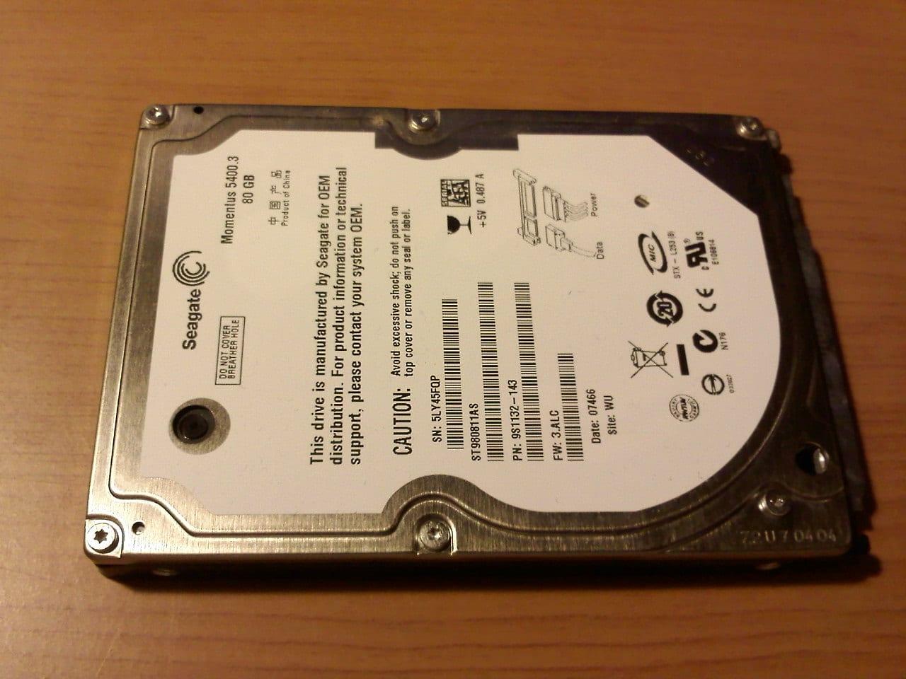 PS3 Hard Drive - 5400.3