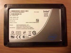 PS3 Hard Drive - X25-M G2