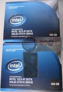 x2 Intel 160GB X25-M SSD