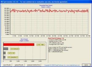 2 Velociraptors Hard Disks in Raid 0, 64GB Slice, Write-back Cache On, ICH7R Matrix RAID Controller