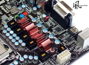 Motherboard MOSFET Heatsink