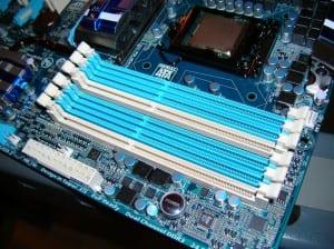 P55A-UD6 Memory Slots