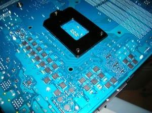P55A-UD6 Socket Back
