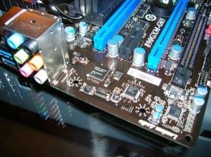 MSI 890GXM-G65 lower left