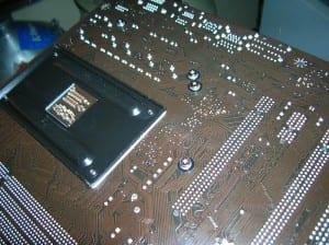 MSI 890GXM-G65 Back Socket Area