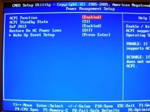 MSI 890GXM-G65 BIOS - Power Management