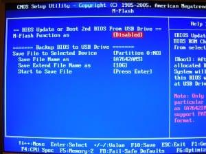 MSI 890GXM-G65 BIOS - M-Flash