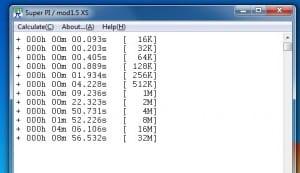Super Pi Tests @ 4617MHz
