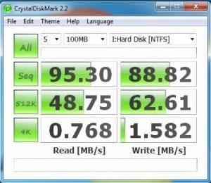 CrystalDiskMark 2.2