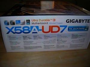 X58A-UD7 Box Side