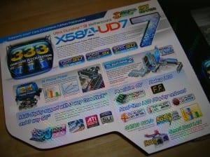 X58A-UD7 Box Inside Flap