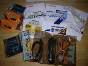 X58A-UD7 Accessories