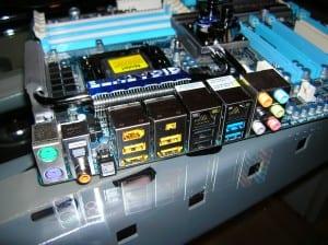 X58A-UD7 I/O Panel