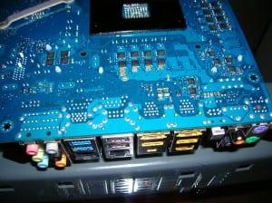 X58A-UD7 I/O Panel Back