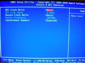 X58A-UD7 Uncore & QPI Features