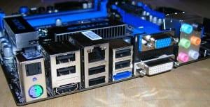 H55M-ED55 I/O Panel