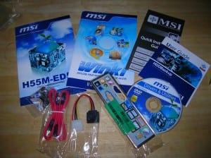 H55M-ED55 Accessories