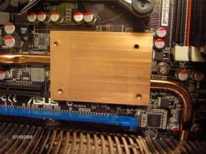 Heat Pipe Copper Block