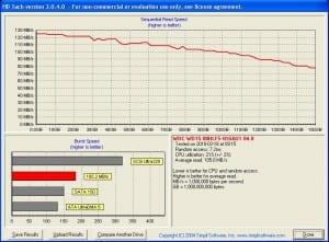150gig WD VelociRaptor Via Bytecc USB 3.0