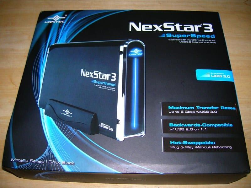 Vantec NexStar3 Box Front