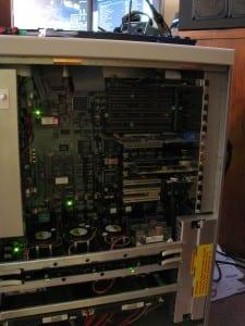 Thideras' 5-CPU Pentium Pro machine.