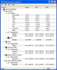 Intel max fan speed ~1700rpm