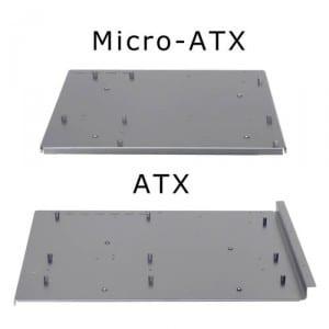 Optional mATX / ATX Tray