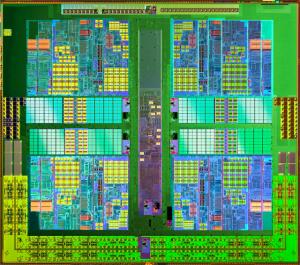 Athlon II x4 Die Shot