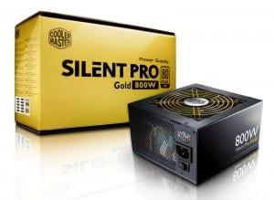 Silent Pro Gold 800 - Image Courtesy Cooler Master