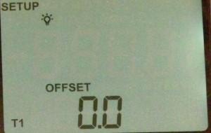 Offset adjustment