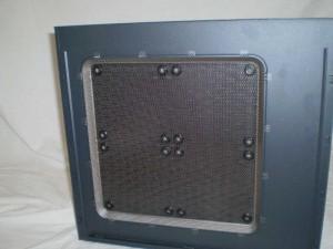 interior side of case door