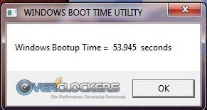 Western Digital HDD Boot Time