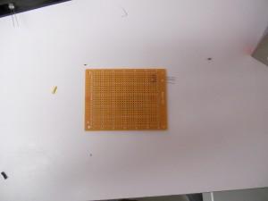 Resistors mounted