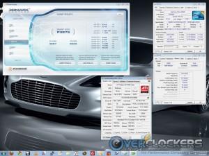 3DMark Vantage at stock clocks