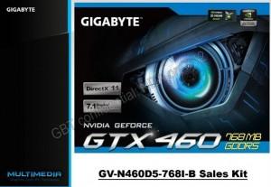 Gigabyte GTX 460 Press Kit - 1 (Courtesy Expreview)