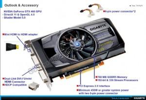 Gigabyte GTX 460 Press Kit - 2 (Courtesy Expreview)