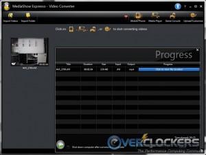 Finished encoding - hardware acceleration on
