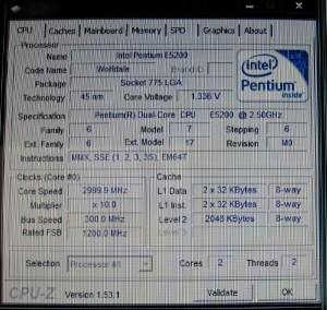 LLC on, 1.3625Vcore, Windows Idle CPUz