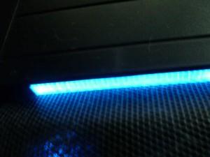 """Illuminated """"power on"""" bar"""