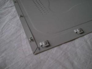 Inside view of door from generic case made in 2001
