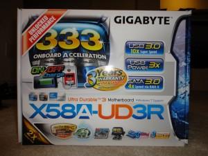 X58A-UD3R Box