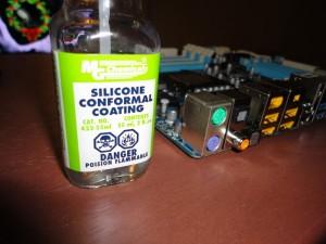 Silicone Conformal Coating