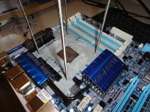 CPU Pot Mounting Rods