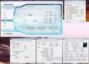 3DMark Vantage CPU Score at 15x240 MHz
