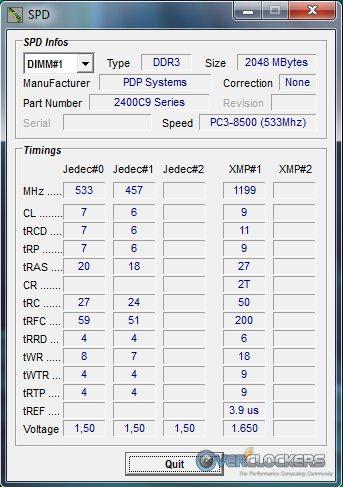 Sector 5 XMP Profile