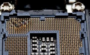 Burned Socket (Courtesy of Anandtech.com)