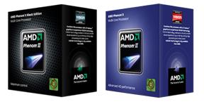 Black Edition and Non Black Edition Boxes (Image Courtesy AMD)